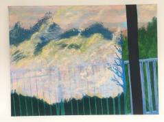 'Onderweg 2' 2018 60 cm x 80 cm Acrylverf op doek